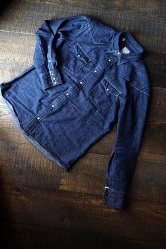 #Denim. #Shirt.