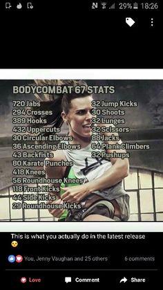 Les Mills body combat 67