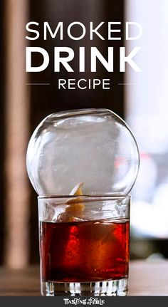 How to Smoke Cocktails