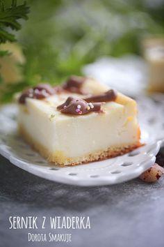 Sernik z wiaderka Pavlova, Cheesecake, Food, Cheesecakes, Essen, Meals, Yemek, Cherry Cheesecake Shooters, Eten