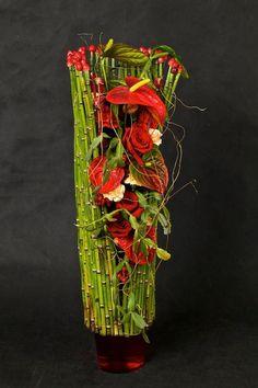 Art Floral, Floral Design, Ikebana Arrangements, Floral Arrangements, Contemporary Flower Arrangements, Creative Flower Arrangements, Flower Show, Flower Art, South African Flowers