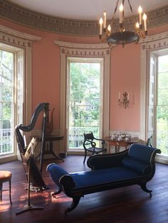 The Drawing Room in the Nathaniel Russell House, Charleston