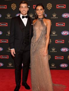 Fashionterest : The meadow air of Melbourne is filled with excitement and smells a lot like the scent of new clothes. Well, it is probably due to one of the major red carpet walk down in 2018 i.e Brownlow Medal red carpet. New Outfits, Red Carpet, Events, Future, Formal Dresses, Gallery, Life, Clothes, Fashion