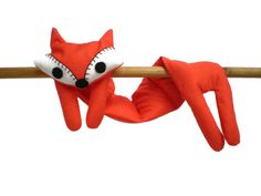 Flat Fox Neck Rice Heat Pad  Hot Cold Rice by MustHaveBeenTheCat