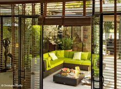 aménager patio intérieur - Recherche Google