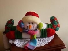 Snowman Crafts, Elf On The Shelf, Teddy Bear, Toys, Holiday Decor, Mary, Home Decor, Ideas, Scrappy Quilts