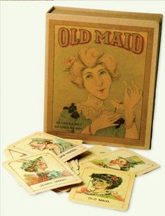 Old Maid Card Game from Victorian Trading Co.