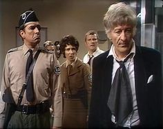 Jon Pertwee as the Third Doctor Appreciation Group. Where Capaldi got the inspiration for his floof