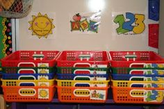 i like this idea for morning arrival- children will be assigned either math, literacy, or morning centers