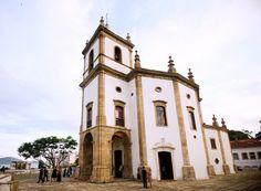 """""""Igreja de Nossa Senhora da Glória do Outeiro"""". Igreja Rococó. Rio de Janeiro, Brasil."""