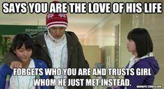 Korean Drama Memes and Quotes - Social - Viki Discussions Boys Over Flowers, Boys Before Flowers, Gu Hye Sun, Geum Jan Di, Kdrama Memes, Bts Memes, Funny Memes, Ji Hoo, Playful Kiss