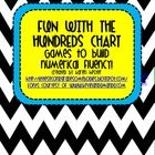 Set of games designed to build numerical fluency and mental math abilities using the hundreds chart.