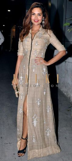 Must have Bollywood style! Find a style match to the celebrity look of your choice @ http://www.kalkifashion.com/gowns.html