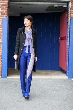 Bow Blouse/Mondrian Pant