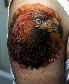Tattoo Adler Kopf
