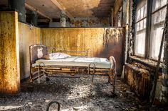 Abandoned Asylums: An unrestricted journey into America's forgotten hospitals | Creative Boom
