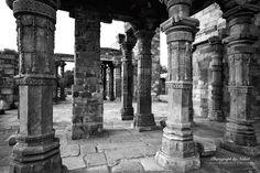 Pilars at Quatab Minar