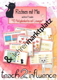 Rechenkartei 2. Klasse (Zahlenraum, Plus, Minus...) Plus And Minus, Cover, Books, Tens And Ones, Distance Education Courses, 2nd Grades, Numeracy, Mathematics, Teaching Materials