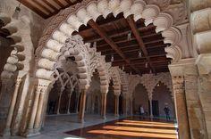 Aljafería ( 11th century, Zaragoza, Spain )