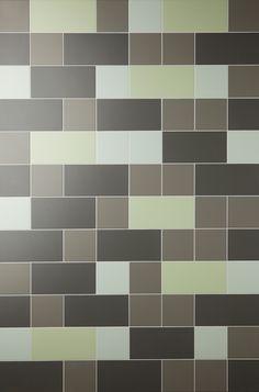 Een designwand naar je hand. Mosa badkamertegels badkamervloer en badkamerwand #bathroom http://www.wonenonline.nl/badkamers/badkamervloer-wand/mosa-designwand-badkamerwand-badkamervloer.html
