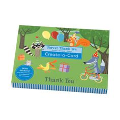 Mudpuppy Create-A-Card sets allow little ones to personalize thank you cards for all the special people in their lives (you! Personalized Thank You Cards, Thank You Note Cards, Forest Friends, Toddler Activities, Little Ones, Create Your Own, Easy Diy, Best Gifts, Greeting Cards