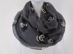Hey, I found this really awesome Etsy listing at https://www.etsy.com/listing/483620569/panda-infinity-scarf-panda-scarf-cute