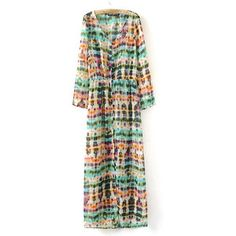 SheIn(sheinside) Design And Colour Patterns Cardign Dress