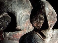 Is this the face of a god, of a ghost, or of an ordinary man? archaeologists date these Vinca sculptures to sometime between 4500 and 3500 B.C