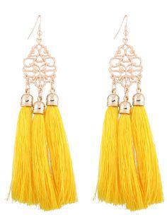 GET $50 NOW | Join RoseGal: Get YOUR $50 NOW!http://m.rosegal.com/earrings/alloy-engraved-tassel-earrings-1086415.html?seid=10u4urnrgpcpl5m7l7mr20q173rg1086415