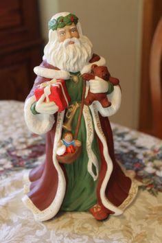 Porcelein Santa
