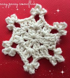 This is just a two row snowflake that I made on a whim. I wouldn't have written the pattern down had not a liker on my Facebook page asked if there was a pattern online. Idid notknow of an…
