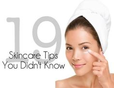 19 Skincare Tips You Didn't Know #Beauty #Musely #Tip