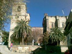Parroquia de Torre de Don Miguel, dedicada a Nuestra Señora de la Asunción, situada en pleno centro de Torre de Don Miguel, hace las veces de rotonda en la carretera que nos lleva a Gata. Es Bien de Interés Cultural en la categoría de Monumento.