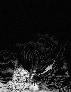 Berserk #guts #hellhound #darkart