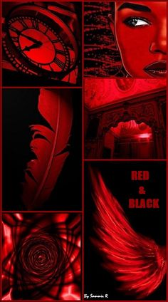 Red and Black By Sammie R