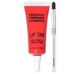 Obsessive Compulsive Cosmetics Matte Lip Tar - NSFW for sale online Obsessive Compulsive Cosmetics, Lip Tar, 6 Pack, Lip Brush, Hemp Oil, Hush Hush, Travel Size Products, Beauty Care, Skin Care