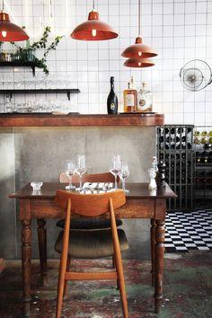 Bosco – nice restaurant interior by Michaela Picchi and Margot Pandone in Berlin. #interiordesign