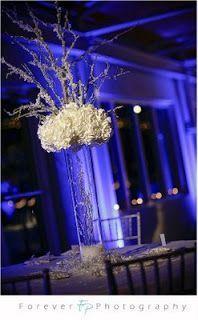 Weddings by Kristie: DIY Elegant Winter Centerpieces...