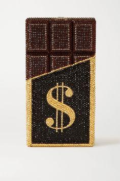 Book Clutch, Clutch Bag, Olympia Le Tan, Judith Leiber, Luxury Bags, Metallic Leather, Swarovski Crystals, Branding Design, Candy
