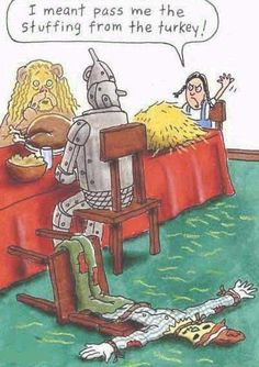 Thanksgiving /Fall....Doctor Laughter | Stuffing from the turkey