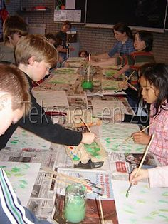 Kids Artists - great site for art teachers