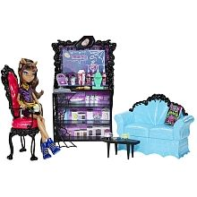 Cafeterroría Monster High - ¡Incluye muñeca Clawdeen Exclusiva!
