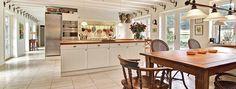 Danish country house kitchen