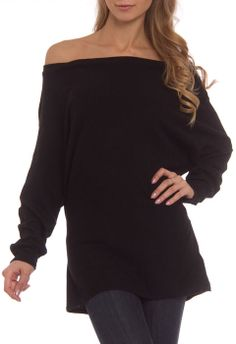 Pure and Simple Eva Top in Black - Beyond the Rack