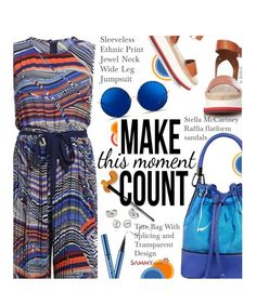 Casual by beebeely-look on Polyvore featuring polyvore fashion style STELLA McCARTNEY Matthew Williamson clothing Summer casual casualoutfit jumpsuit sammydress