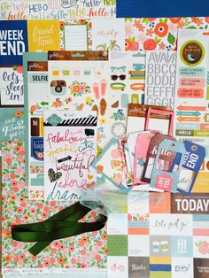 My Creative Scrapbook: January Kits Reveal + January 2015 Creative kit  featuring Pebbles' Happy Day collection