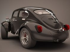 VW Bug #Black&Red