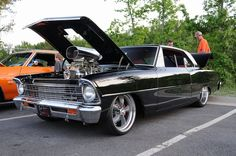 Blown 1967 Chevy Nova SS. More Wicked Muscle Cars at: http://hot-cars.org/