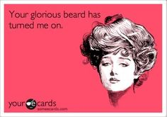a skiff of well groomed mens facial hair...