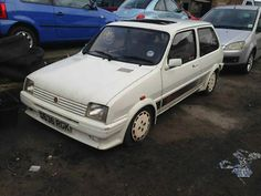 1987 MG Metro White Non Turbo No Rust   - http://www.classiccarsunder1000.com/archives/57822